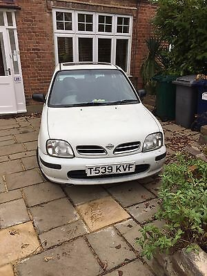 Nissan Micra Low Milage 1liter Automatic