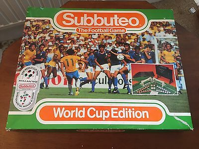 Subbuteo The Football Game World Cup Edition Itslia 1990 Set