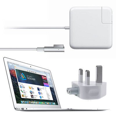 """60W """" L """" Laptop Power Adapter Charger for Apple MacBook Pro 13""""/15""""/17""""-inch"""
