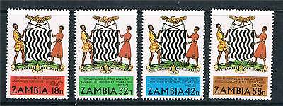 Zambia 1980 26th C.P.A.Conference SG 321/4 MNH