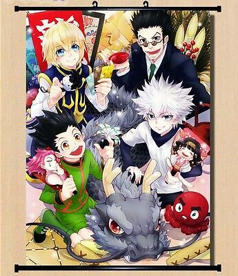 Japan Anime Hunter X Hunter Killua Gon home decor Wall Scroll Poster 2467
