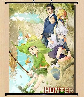 "Hot Japan Anime Hunter X Hunter Cosplay Home Decor Wall Scroll Poster 8""x12"" 015"