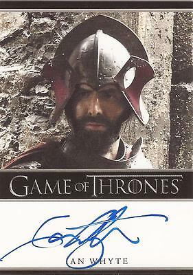 "Game of Thrones Season 4 - Ian Whyte ""Gregor Clegane"" Autograph Card"