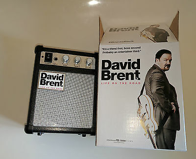 DAVID BRENT: Life On The Road MP3 Speaker promo - rare - Ricky Gervais
