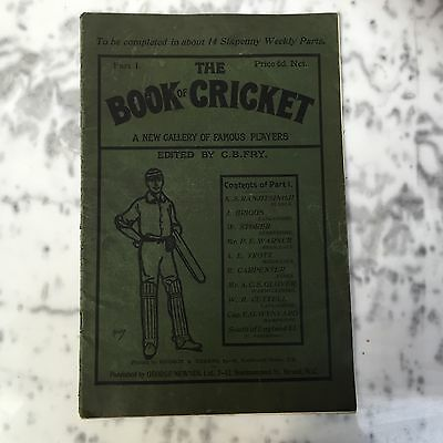 The Book Of Cricket Part 1 (1899)