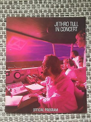 Jethro Tull - Tour Programme - In Excellant Condition