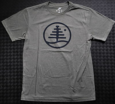 BURTON Family Tree Recycled Slim-Fit t-shirt in Olive Heather in M.
