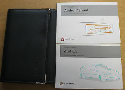 Vauxhall Astra Owners Manual Handbook Wallet 1998-2004 Pack 12703