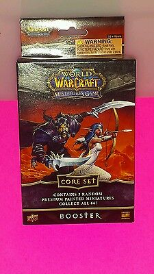 world of warcraft miniatures game core set. NEW