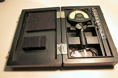 """MAHR MILLIMESS DIAL INDICATOR / COMPARATOR .00005"""" FULL JEWELED Made in Germany"""