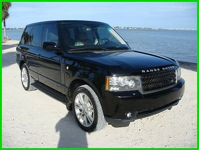 2011 Land Rover Range Rover HSE 2011 RANGE ROVER HSE 1 OWNER ALL SERVICE RECORDS STUNNING CONDITION