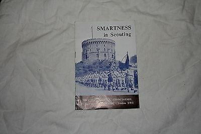 Smartness In Scouting, The Boy Scout Association, 1962, Rare Booklet