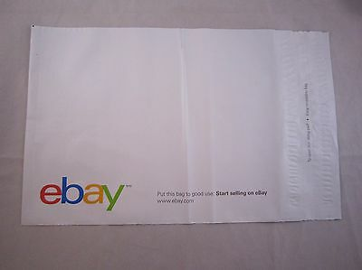 """35 COUNT eBay Branded Polyjacket Envelopes 10"""" x 12.5"""" Shipping Plastic Bags"""