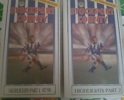 Stockport County highlights video 1997/98 part1+2