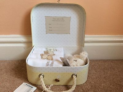 * Mamas and Papas Once Upon a Time Muslins In Box With Teddy
