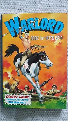 Warlord Book for Boys 1984