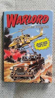 Warlord Book for Boys 1986 - unclipped