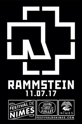 Rammstein Festival de Nimes, 2 places Carre OR, 11/07/2017