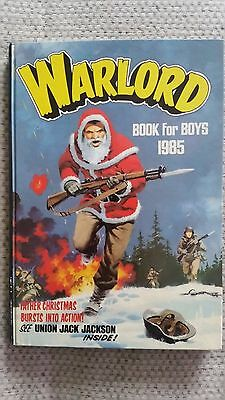 Warlord Book for Boys 1985 - unclipped