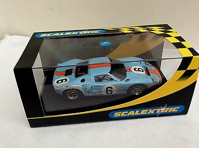 Scalextric 1/32 Slot Car -  C2404 Ford GT40 1969 #6     BOXED