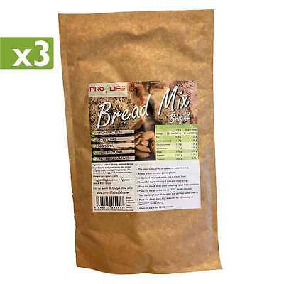x3 Low Carb White Bread Mix - High Protein, Lowest Carb, Atkins, Dukan