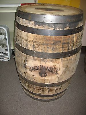 Original Oak Jack Daniels Whiskey Barrels - Unfinished & Branded -