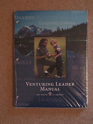 NEW! BSA Venturing Leader Manual - Boy Scouts
