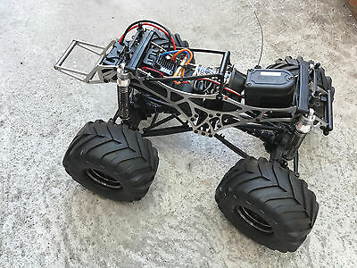 HD Titanium Chassis Frame  for Hpi Wheely King