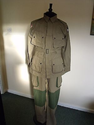 WW2 Us Army Airborne Jump Suit. Repro.