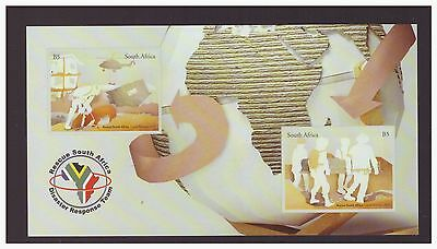 South Africa 2013 Rescue , Disaster Response team  set mint MNH set stamps
