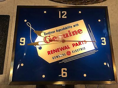 Vintage General Electric Advertising Clock by Sign Crafters, INC.