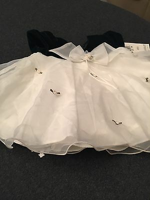 New Girls Christmas Dress By Bonnie Baby, Size 12 Months #1sm