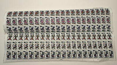 1966 Battle of Hastings Full Sheet of 4d stamps
