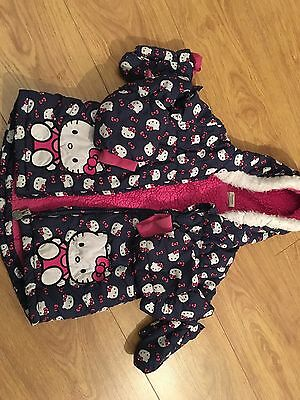 Hello Kitty Coat Age 3-4