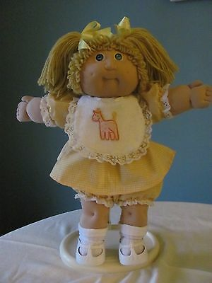 Vintage Cabbage Patch Doll - JESMAR Girl - 1985 - Lovely Condition