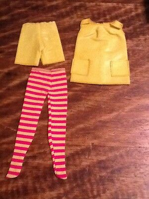 barbie vintage Tunic 'n tights #1859 1968 incompleto