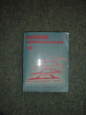 1991 Nissan Sentra & NX COUPE Service  Manual