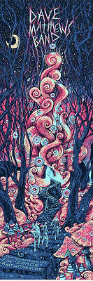 Dave Matthews Band DMB Gorge N3 James Eads Stairway Fire Poster NEAR MINT 9/4