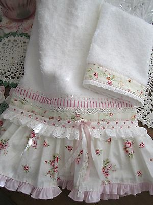 A Beauty for u Mary Rose Lovers!  Handtowel/wash set with HM Ruffles lots o lace