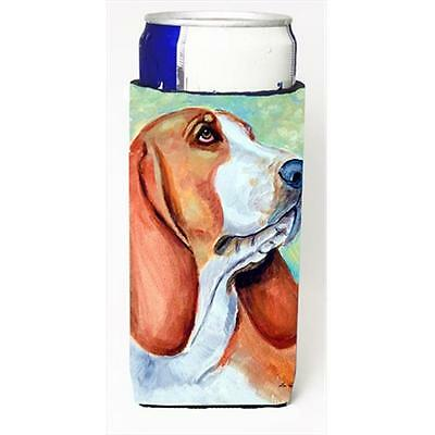 Carolines Treasures Basset Hound Michelob Ultra bottle sleeves For Slim Cans