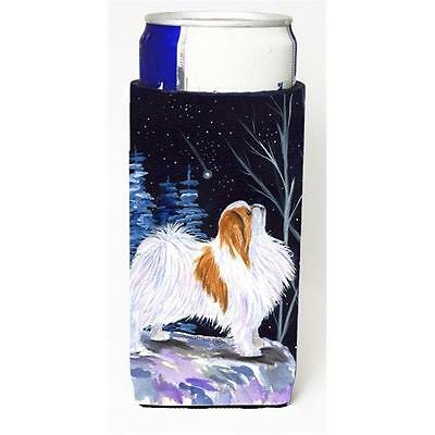 Starry Night Japanese Chin Michelob Ultra bottle sleeves For Slim Cans 12 oz.