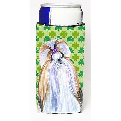 Shih Tzu St. Patricks Day Shamrock Portrait Michelob Ultra bottle sleeves for...