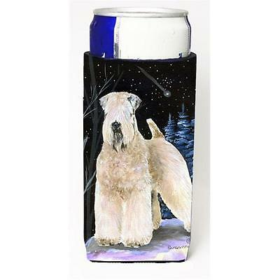 Starry Night Wheaten Terrier Soft Coated Michelob Ultra bottle sleeves For Sl...