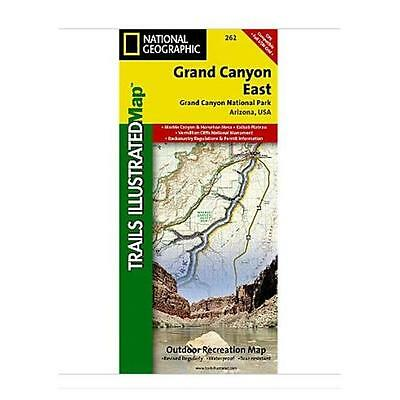 National Geographic Maps TI00000262 Grand Canyon East
