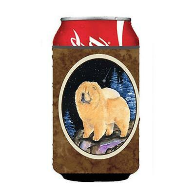 Carolines Treasures Starry Night Chow Chow Can or bottle sleeve Hugger 12 oz.
