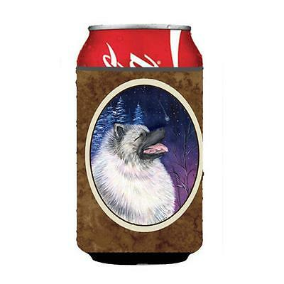 Carolines Treasures Starry Night Keeshond Can Or bottle sleeve Hugger 12 oz.