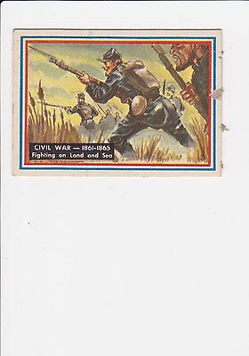 1953 Topps Fighting Marines #78 Civil War EXMT