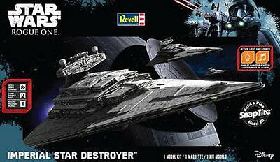 REVELL Monogram Star Wars Imperial Star Destroyer Plastic Model Kit 1638