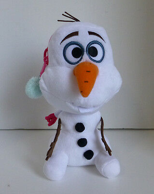 Japan Disney Frozen Snowman Olaf Plush Coin Purse