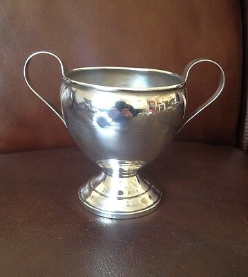 Vintage Sterling Silver Twin Handled Trophy Cup